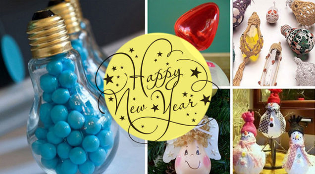 7 Great ways to recycle Christmas decorations for New Year's eve